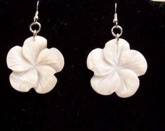 Mother-of-Pearl Shell Earrings