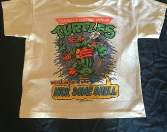 Teenage Mutant Ninja Turtles Michaelangelo vintage shirt