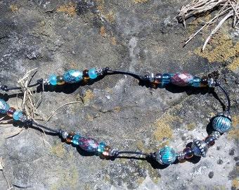 Celtic Leather Necklace