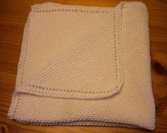 Hand-Knit Baby Blanket