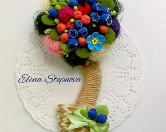 Flower arrangement (magnet)
