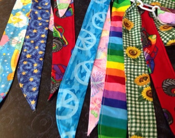 Cooling neck ties