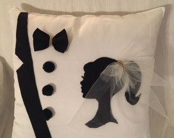 Bridal Pillow Wedding Pillow Bridal gift