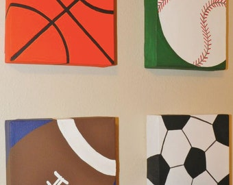 CUSTOM Sports Canvases