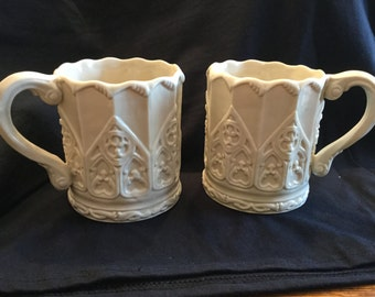 Victoria and Albert Museum Fine Bone China Mugs