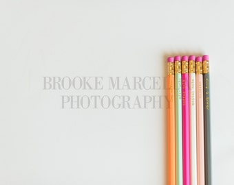 Styled Stock Photo - Colorful Pencils