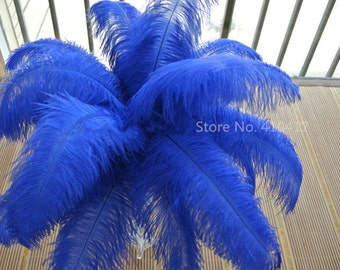 Discount item 100pcs ostrich feather for wedding table centerpiece,feather centerpiece,sapphire ostrich feathers,wedding  AAA