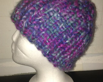 Double knit hat super warm and cozy