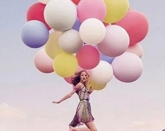5PCS 36 inch Balloon Latex giant huge wedding balloons Party Supplies