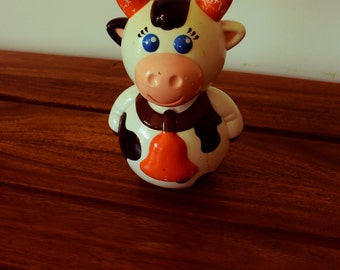musical toy cow vintage Culbuto