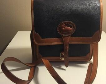Vintage Dooney Bourke cross body satchel