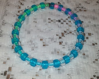 Rainbow pet necklace