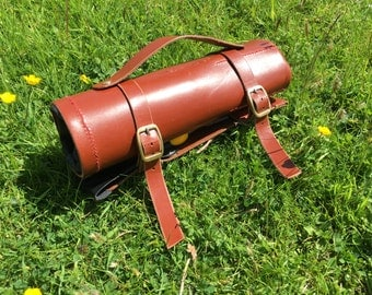 Leather Tool Roll Bag