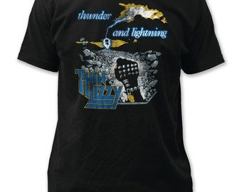 Thin Lizzy Thunder and Lightning - TL16(Black)