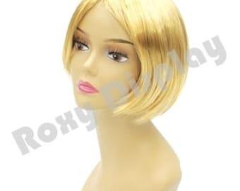 Female Wig Mannequin Blonde Hair