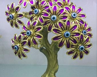 Turkish Evil Eye Flower Trees