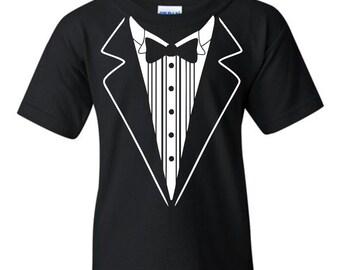 Uink Tuxedo Youth T-shirt