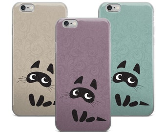 Kitty Cat Phone Case iPhone Oriental Pattern