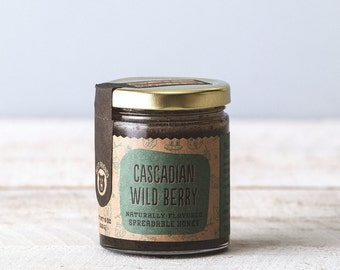 Cascadian Wildberry Honey