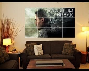 Playstation/Xbox Quantum Break Wall Art