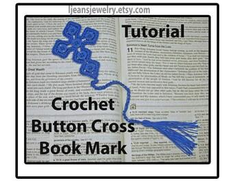 Crochet Cross Book Mark Pattern