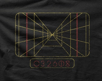 Star Wars T-shirt - X Wing Fighter Computer