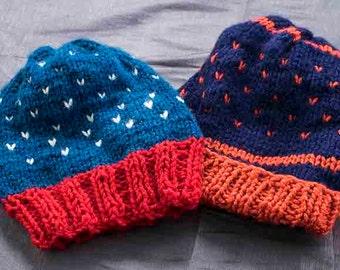 Knit beannie