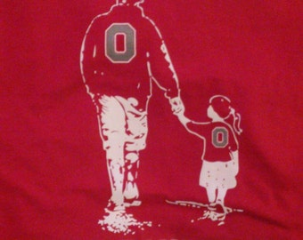 Like Father Like Daughter Block O T shirts