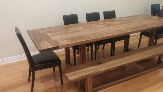 modern trestle dining table farmhouse dining table