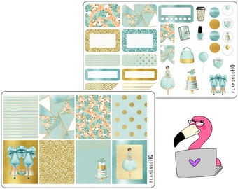 Spring Fling- Weekly Mini Kit Planner Stickers