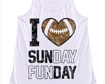 I love Sunday Funday tank