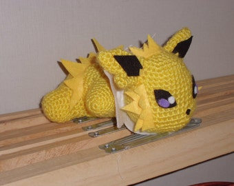 amigurumi plush pokèmon jolteon
