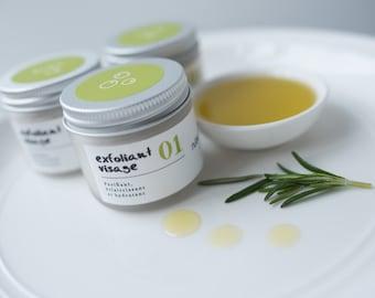 Exfoliating face organic nº01 - Olive