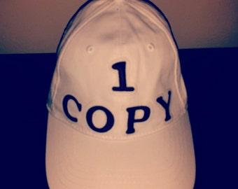 1Copy White Cap