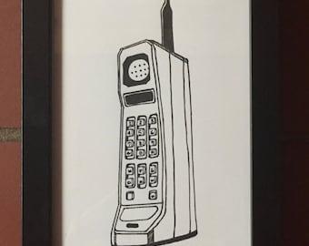80s Series: Cordless Phone
