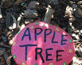 Apple Tree garden rock