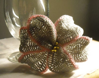 Crocheted Lily