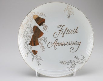 Norcrest 50th Anniversary plate