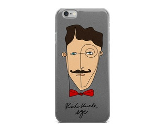 Rich Uncle iPhone Case ACHROMATIC GRAY