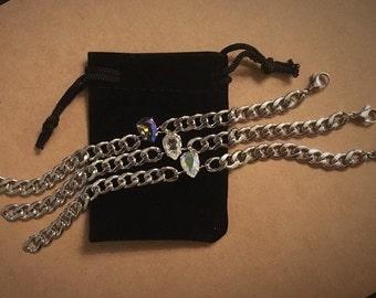 Swarovski Stainless Steel Bracelet
