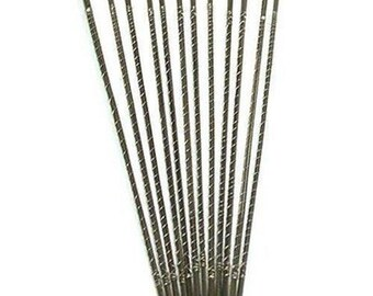 144pc Jewelers Hand Saw Blade - 1/0 - 2/0 - 3/0 - 4/0 - 1 - 2