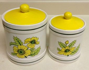 Dandelion 2pc. Canister Set