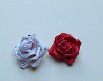 Kanzashi Brooches