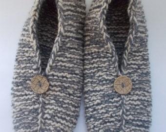 Slippers socks Women's socks hand knitted
