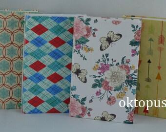 Handmade notebook. Journal