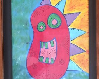 Jelly Bean Monster