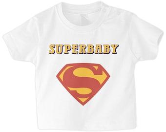 Superbaby Superhero Baby Boy's T-Shirt