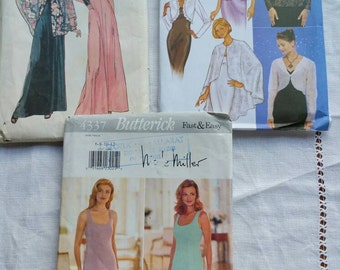 Evening Dress, Cape, Capelet and Jackets Patterns x 3