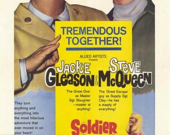 Soldier In The Rain (1963) - Steve McQueen  DVD