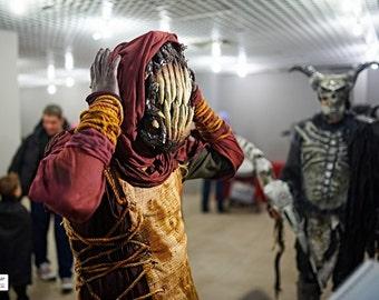 Famine Mask, halloween, creepy